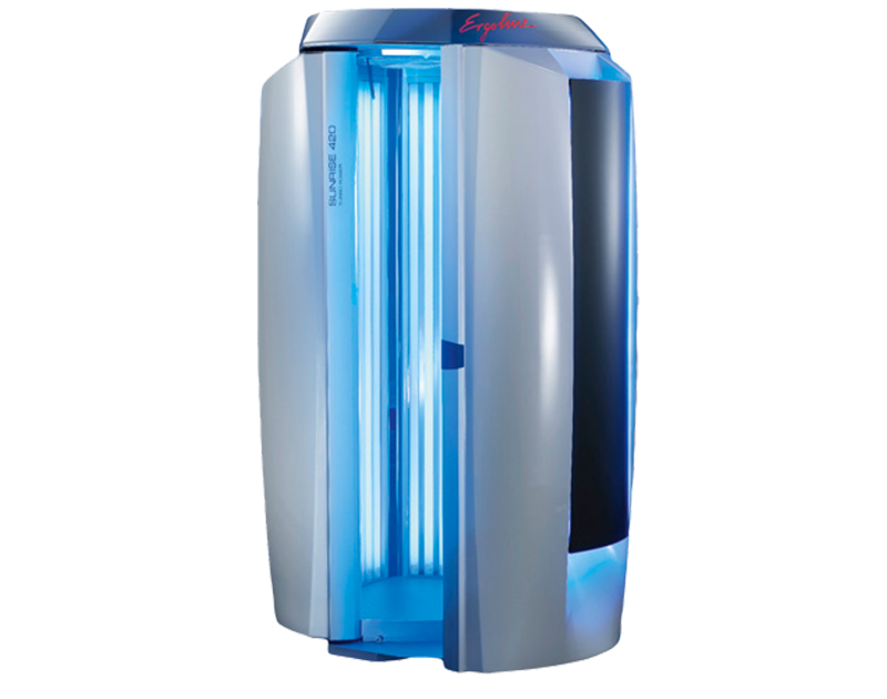 Sunrise 420 spray tanning bed